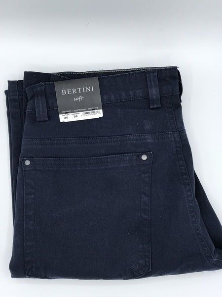 Bertini Soft Casual Pant Navy-M1622M097-410