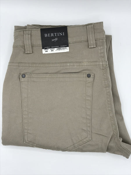 Bertini Soft Casual Pant Tan-M1622M097-254