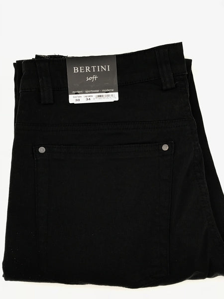 Bertini Soft Casual Pant Black-M1622M097-001