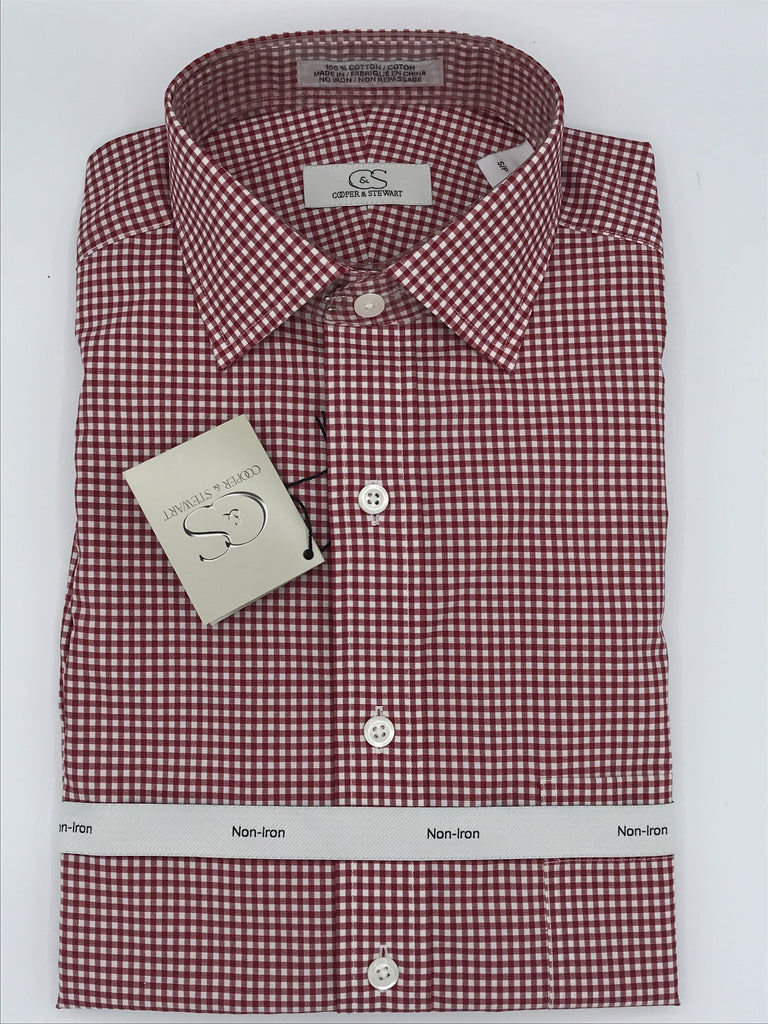 Cooper and Stewart Sport Shirt - 905200 Red