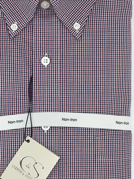 Cooper and Stewart Sport Shirt - 905251 Red