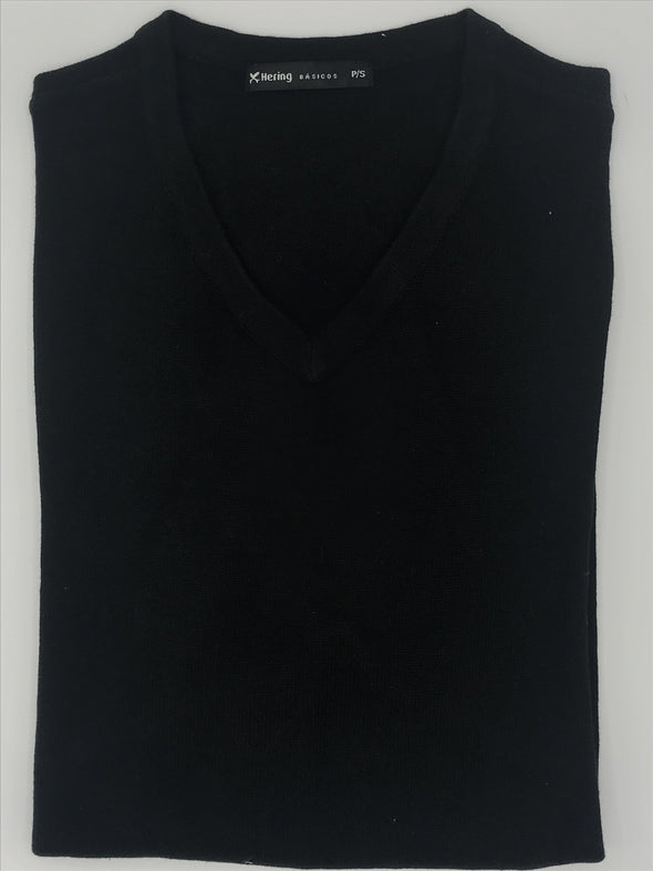Hering Basicos Black Sweater
