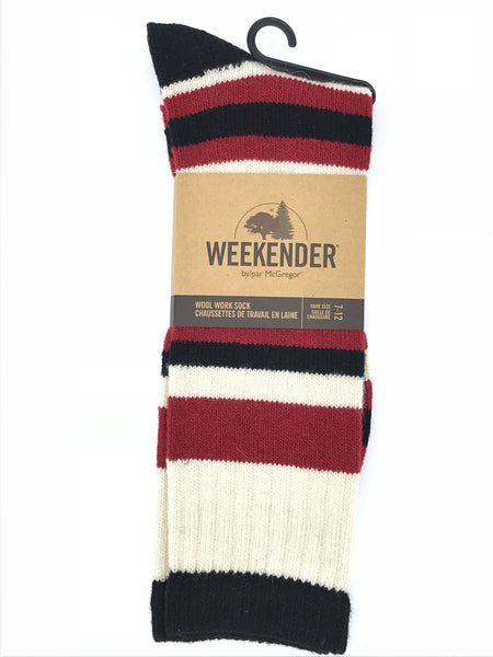 McGregor Weekender Wool  Stripe Sock - MMF231