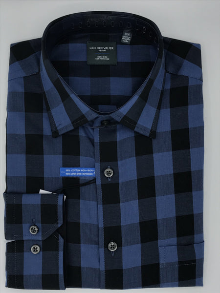 Leo Chevalier Sport Shirt- Blue 521468