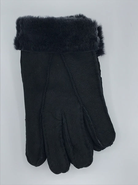 Auclair Lambskin Shearling  Gloves - 6D634
