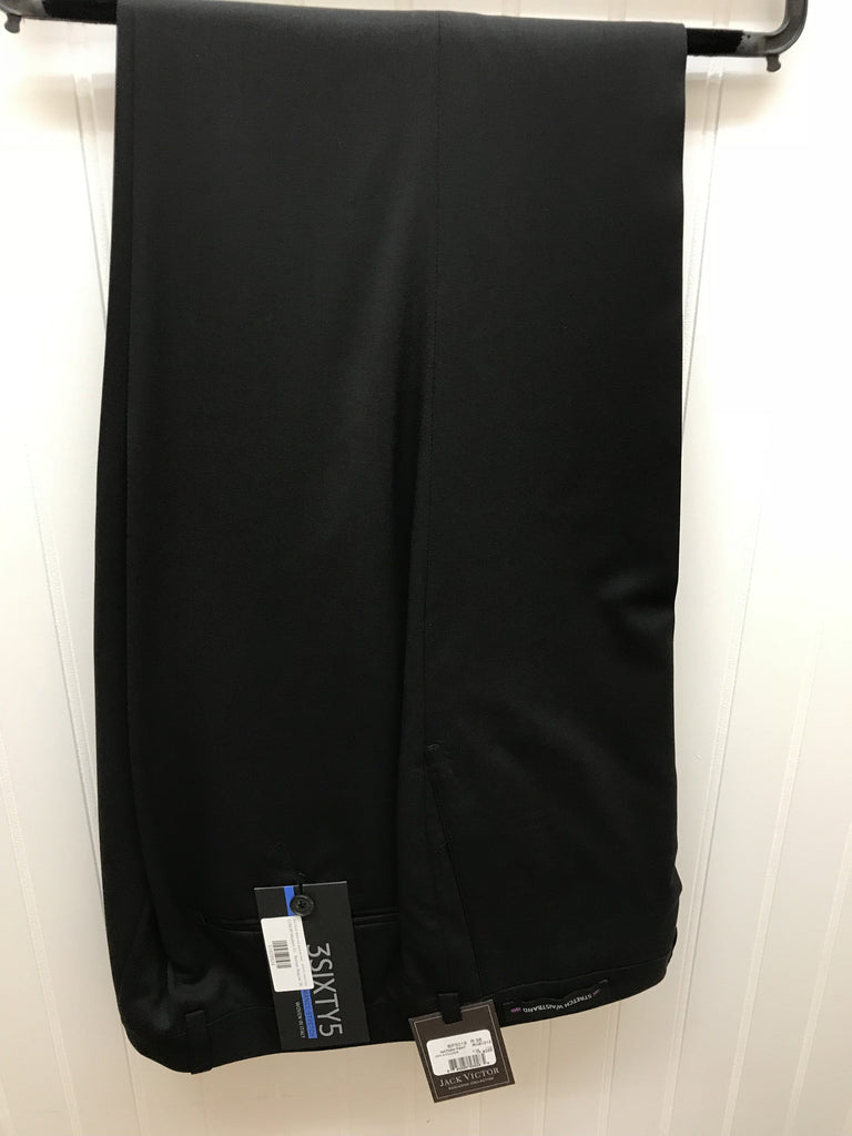 Jack Victor Black Suit Separate Pant - SP3019 *Pant Only*