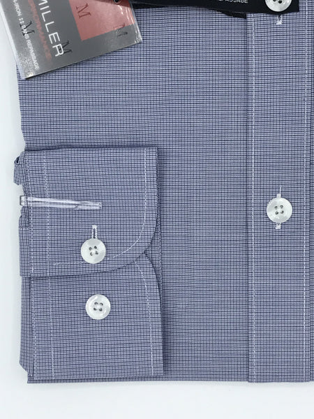 Miller Performance Dress Shirt - Blue Micro Check 52736