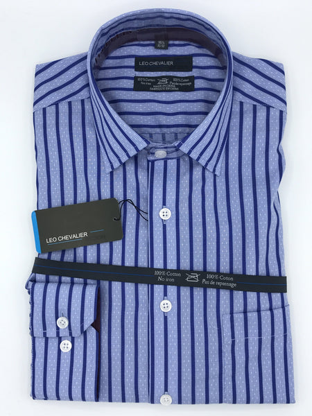 Leo Chevalier Tall Fitted Dress Shirt - 427165 1337