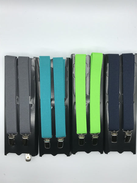 Coloured Suspenders
