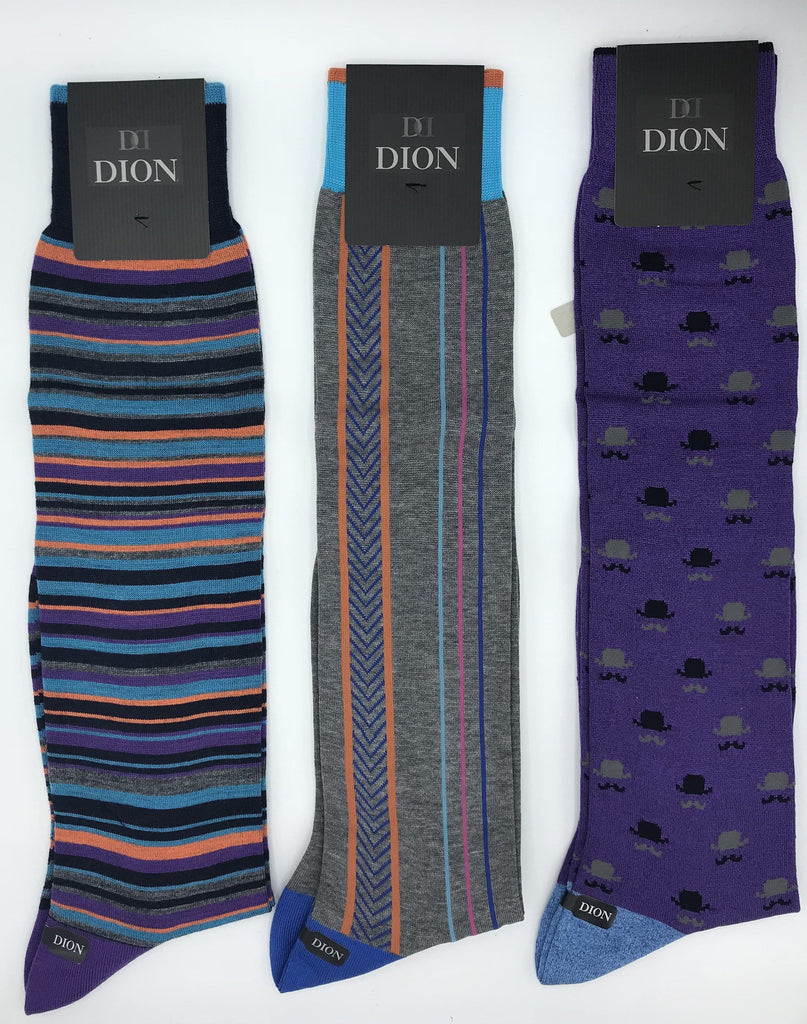 Dion Knee High Cotton Socks