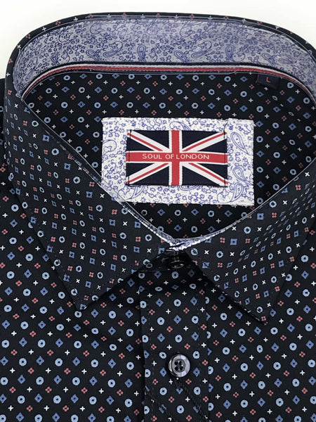 Soul of London Sport Shirt - SOSL172702