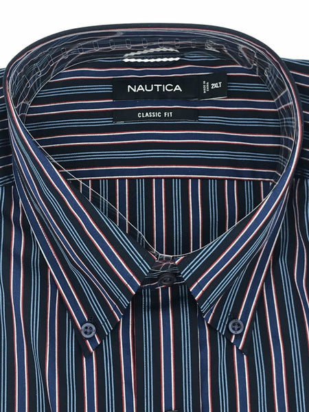 Nautica Big and Tall Sport Shirt Long Sleeve - M73C56