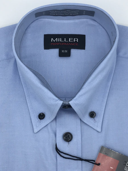Miller Sport Shirt Blue with Dark Buttons - 31732