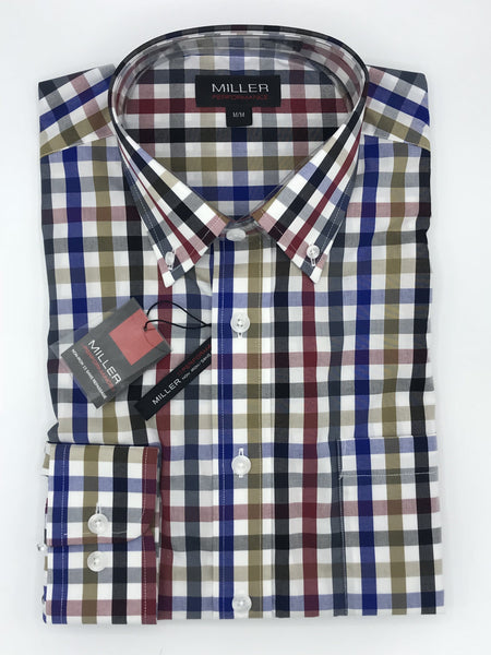 Miller Sport Shirt Lovely Check - 53362