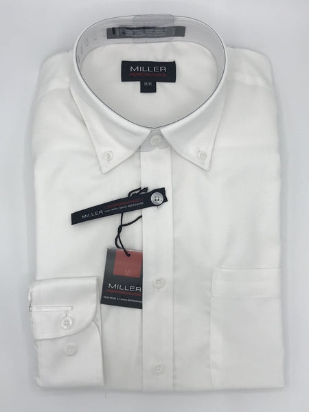 Miller Performance Sport Shirt White - 31732