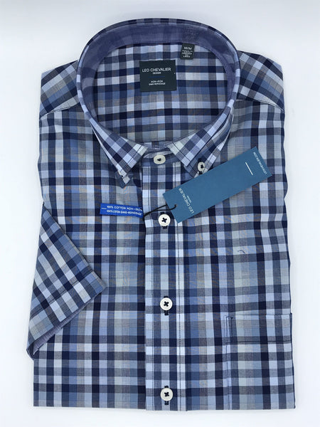 Leo Chevalier Short Sleeve Sport Shirt - 2364 - 1700