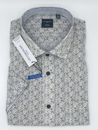 Leo Chevalier Short Sleeve Sport Shirt - 522383 - 0900