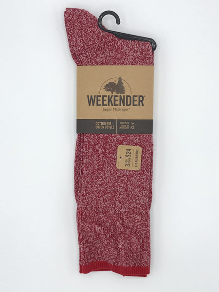 McGregor Weekender Cotton Rib Sock - MMC243