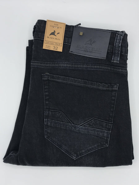 Black Bull Dark Denim Jean - Sam Cut 3100-6220-79