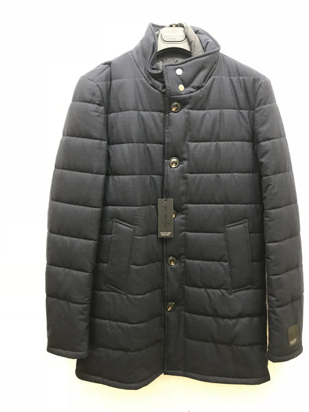 S. Cohen Weather Report Overcoat - Mountain 3122006 - Navy