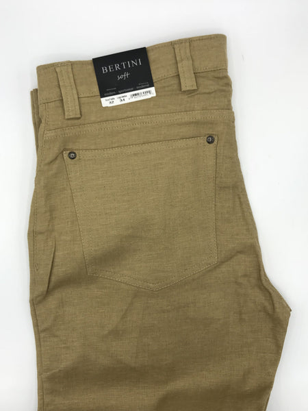 Bertini Luxurious Linen Pants - M1630M097