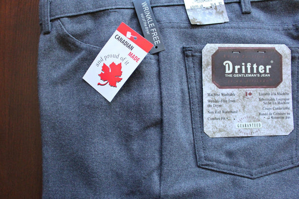 Drifter Jeans - Grey Heather