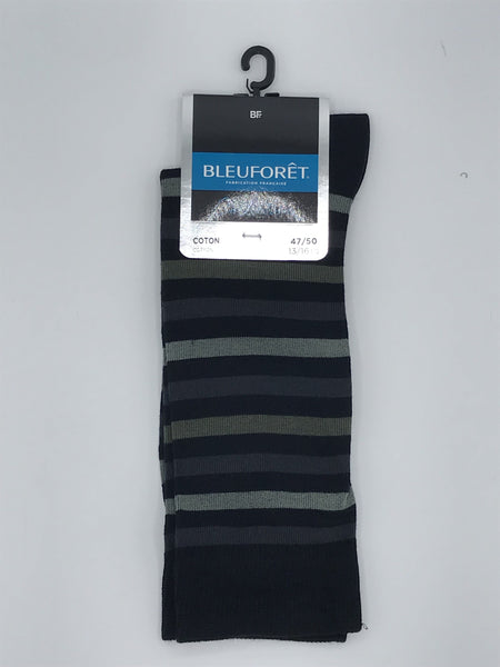 Bleuforet Green Stripe Quality Sock