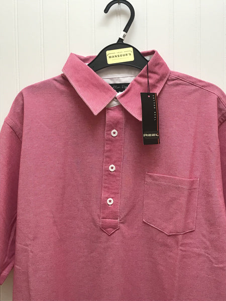 Cotton Reel Pink Polo Shirt