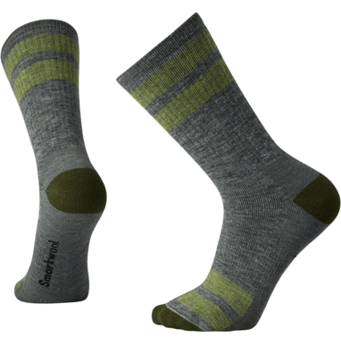 Smartwool Striped Hike Medium Crew Sock - SW001126052-L