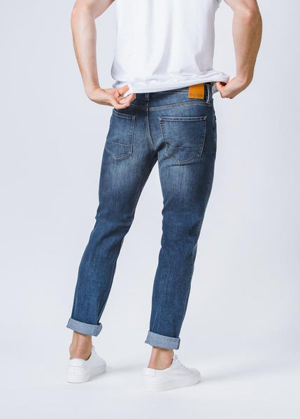 DUER PERFORMANCE DENIM SLIM - GALACTIC