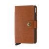 Secrid Mini Wallet- Original Cognac Brown