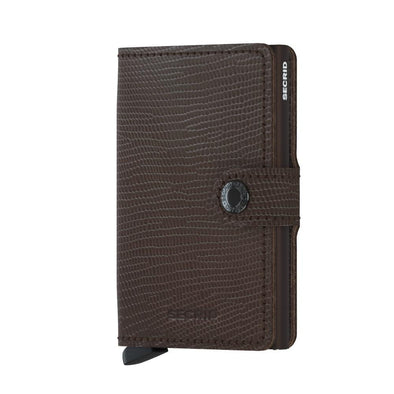 Secrid Mini Wallet- Rango Brown