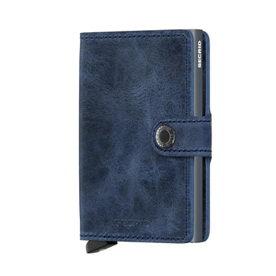 Secrid Mini Wallet- Vintage Blue