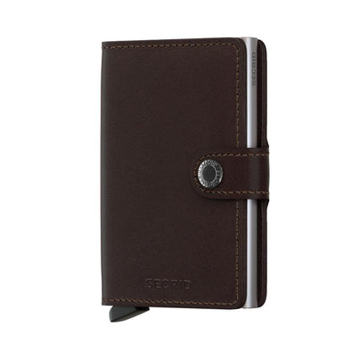 Secrid Mini Wallet- Original Dark Brown