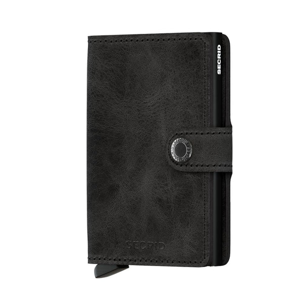 Secrid Mini Wallet- Vintage Black