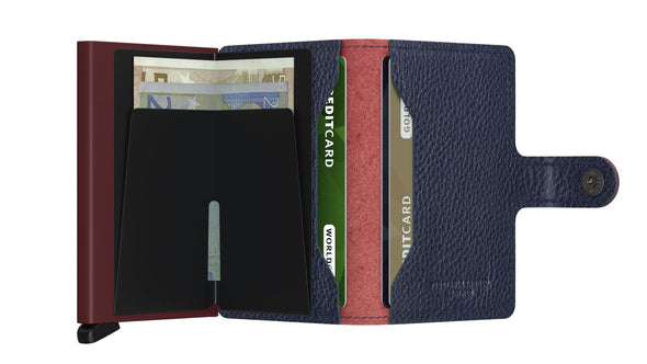 Secrid Mini Wallet- Veg Rosso Bordeaux