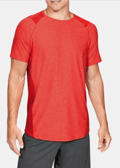 Under Armour Orange MK1 Short Sleeve - 1306428 - 856