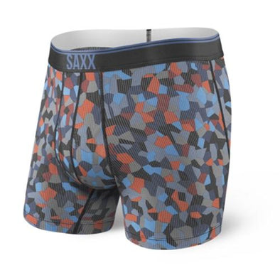 Saxx Quest Boxer Brief Navy Tile Camo SXBB70F-NTC