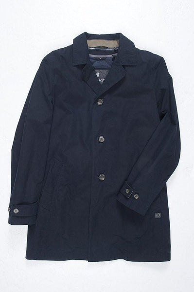 Ookpik Overcoat - Navy