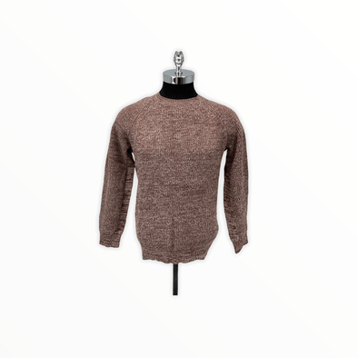 Borgo28 Wine Crew Neck Sweater - BBF0S303 512