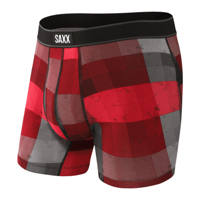 SAXX Daytripper Boxer Brief - Red Holiday Spirit - SXBB11F RHS