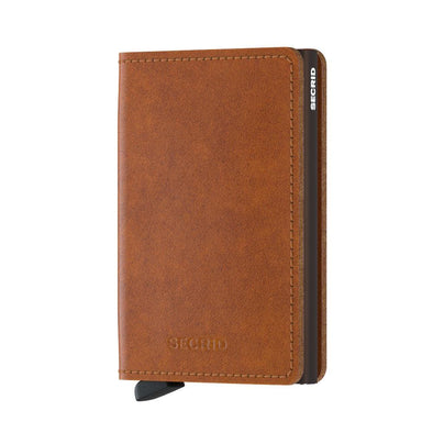 Secrid Slim Wallet - Original Cognac Brown