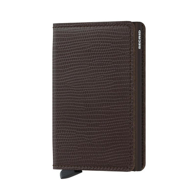 Secrid Slim Wallet - Rango Brown