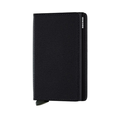 Secrid Slim Wallet - Crisple Black