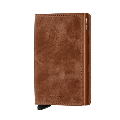 Secrid Slim Wallet - Vintage Cognac Rust