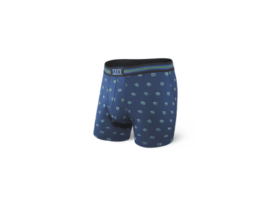 Saxx Vibe Boxer Brief Blue Earth Day Globe-SXBM35  EDG