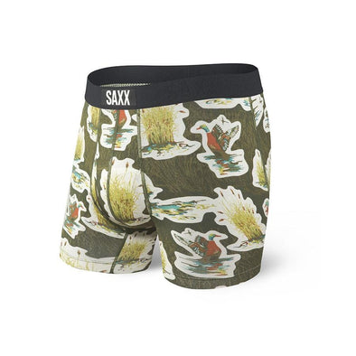Saxx Ultra Boxer Brief  SXBB30F Green Duck Camo GDC