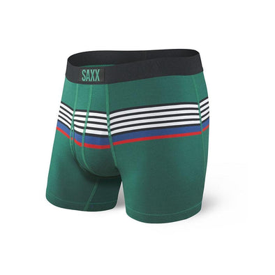 Saxx Ultra Boxer Brief  SXBB30F Green Regatta Stripe GRS