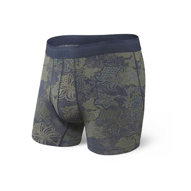 Saxx Platinum Boxer Brief SXBB42F Navy Forrest Paisley NFP