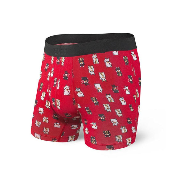 Saxx Platinum Boxer Brief SXBB42F Red Lucky Cat RLC